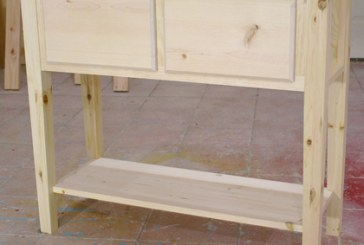Pine Pocket Hole Sofa Table