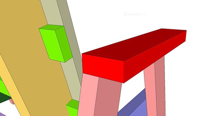 SketchUp Horse Bench (12)