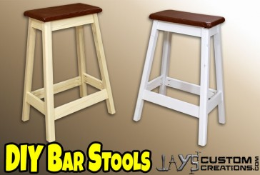 How To Make A DIY Pocket Hole Bar Stool