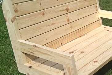 How To Build A 2×4 Porch Swing