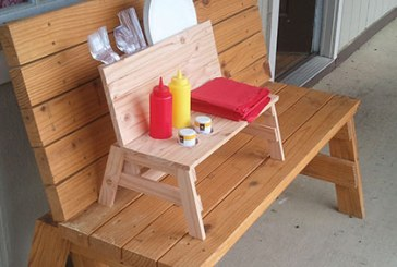 How To Build A Mini Bench Condiment Holder