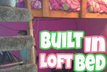 Build A Built In Twin Loft Bed