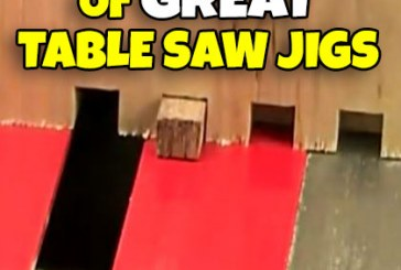 A Collection Of Table Saw Jig Videos