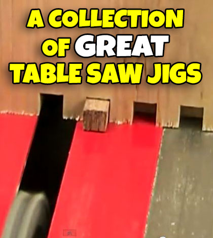 Super A Collection Of Table Saw Jig Videos Jays Custom Creations Download Free Architecture Designs Scobabritishbridgeorg