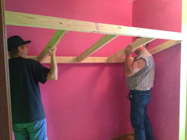 twin loft bed  (10)
