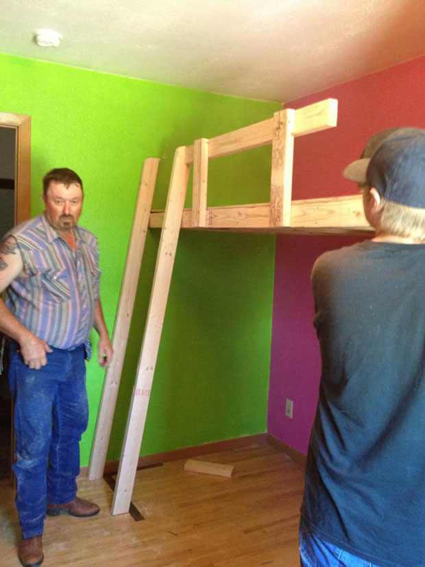 twin loft bed  (11)