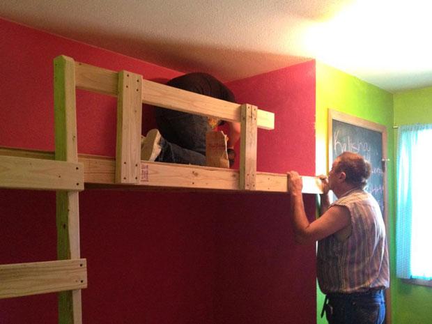 twin loft bed  (12)
