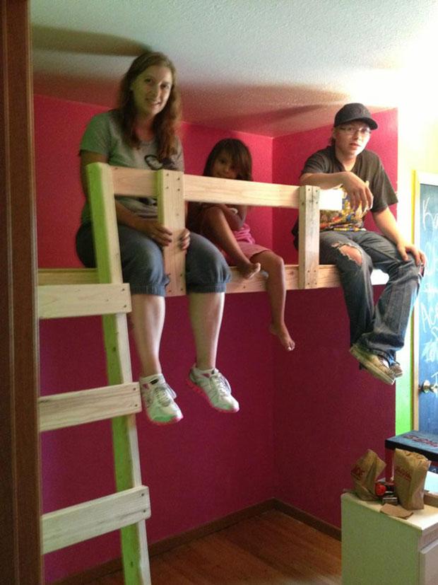 twin loft bed  (13)