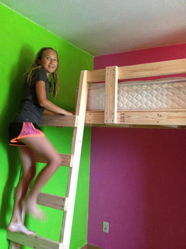 twin loft bed  (14)