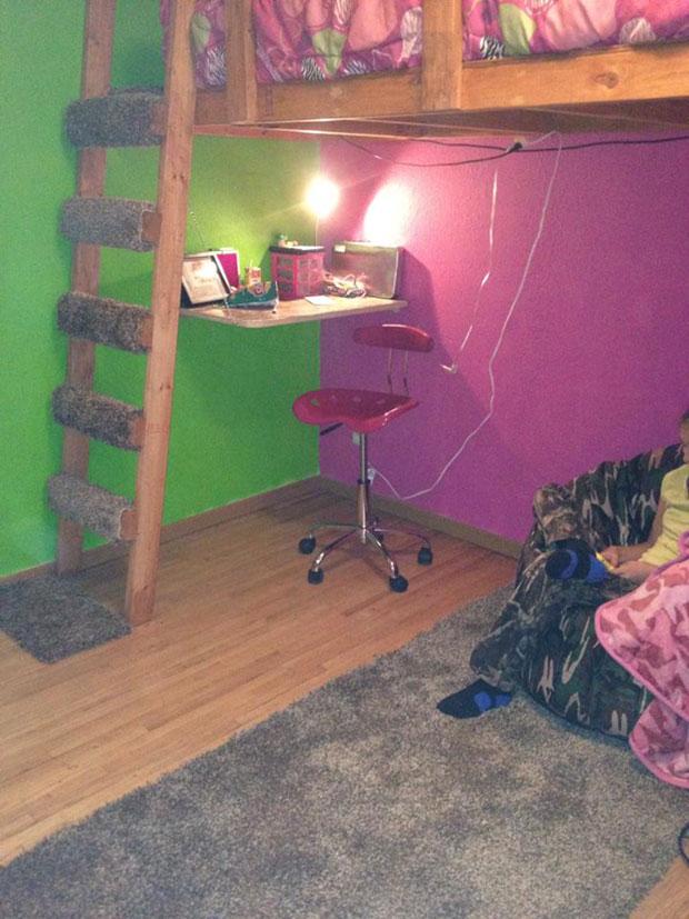 twin loft bed  (19)