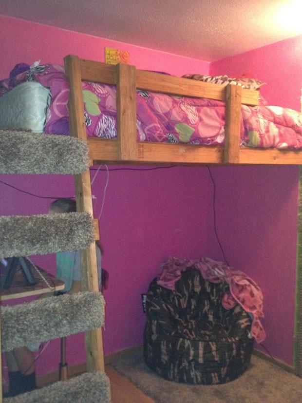 twin loft bed  (20)