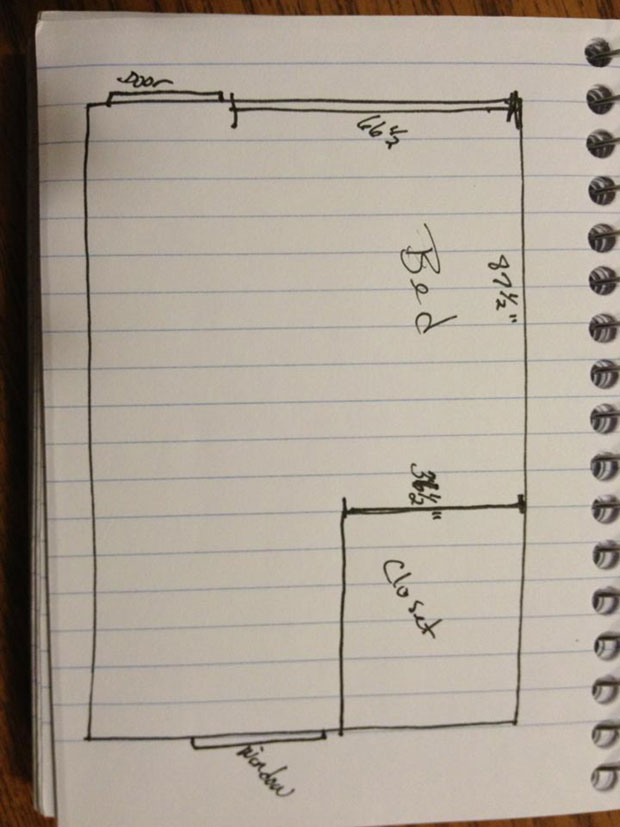 twin loft bed  (3)