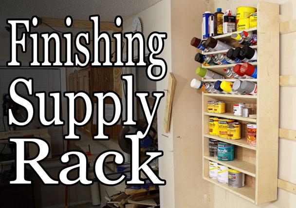 french cleat pocket hole finishing supply rack