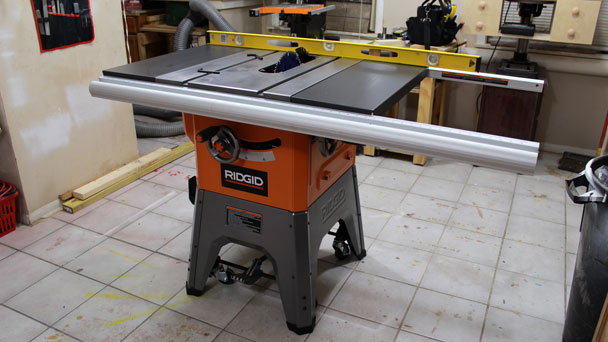 Rigid R4512 Table Saw  (10)