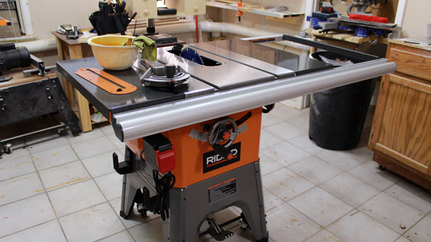 Rigid R4512 Table Saw 11