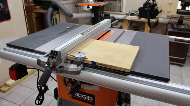 Rigid R4512 Table Saw  (15)