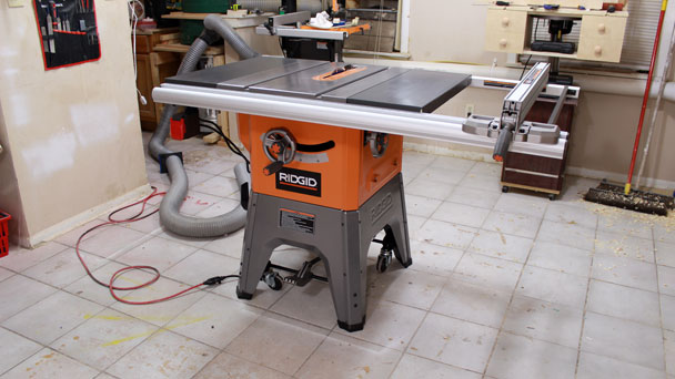 Rigid R4512 Table Saw  (16)
