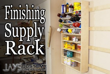 How To Make A French Cleat Pocket Hole Finishing Supply Rack