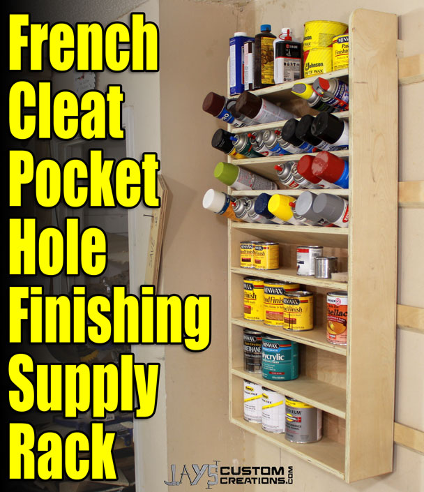 french cleat pocket hole finishing supply rack (5)
