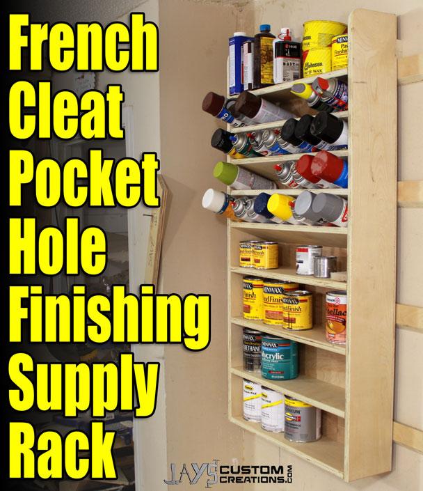 french cleat pocket hole finishing supply rack (5)