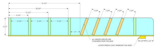 french cleat pocket hole finishing supply rack (6)