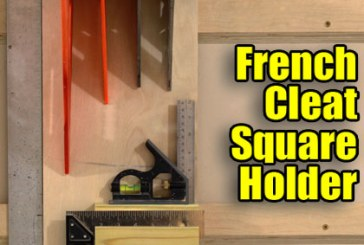 How To Make A French Cleat Square Holder