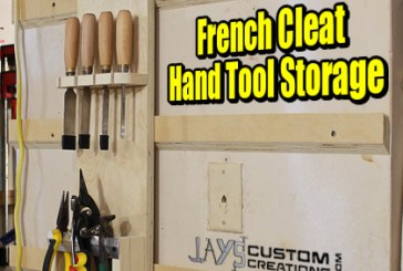 How To Make A French Cleat Hand Tool Holder