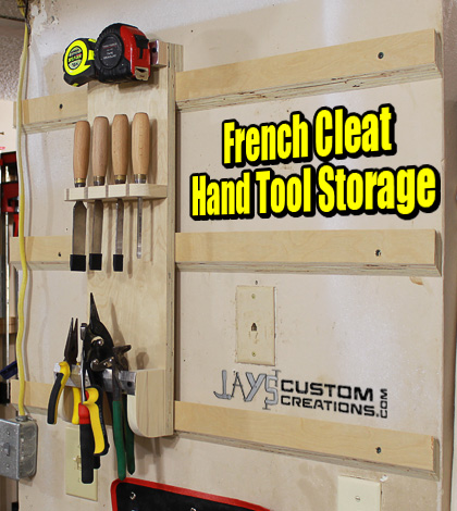 Free Woodworking Tool Storage Plans