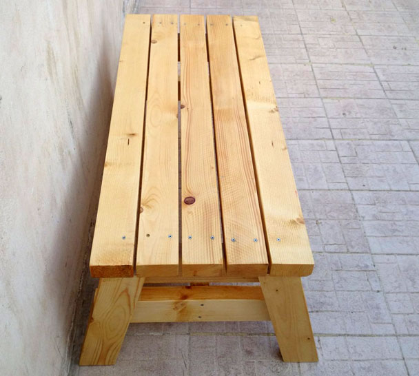How to build a simple sitting bench jays custom creations simple sitting bench 2 malvernweather Image collections