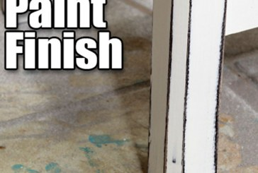How To Get An Antique Weathered Paint Finish