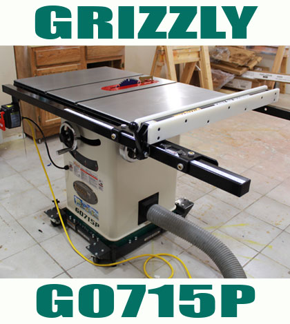 Grizzly G0715p Hybrid Table Saw Jays Custom Creations