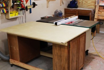 An EASY Table Saw Outfeed Table Design That Can Be Completely Customized To Your Needs