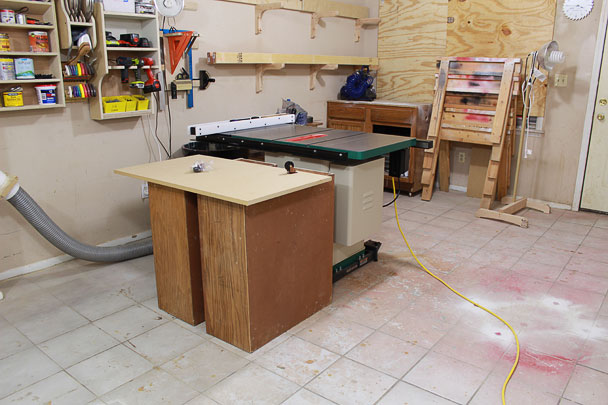 table saw outfeed table (1)