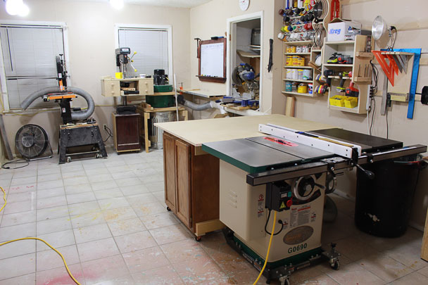 table saw outfeed table (16)