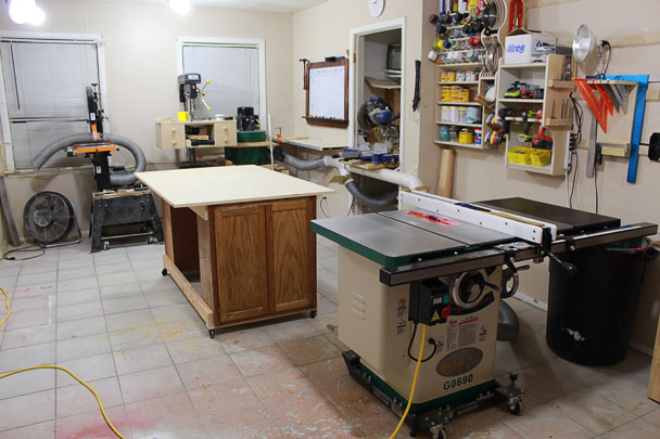 table saw outfeed table (17)
