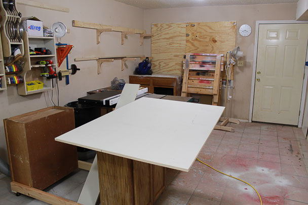 table saw outfeed table (8)