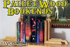 Pallet Wood Bookends