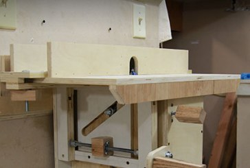 French Cleat Router Table