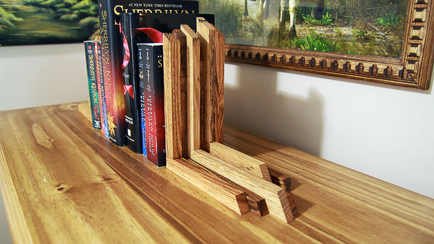 pallet wood bookends 2