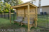 Dog Park Mini Shelter