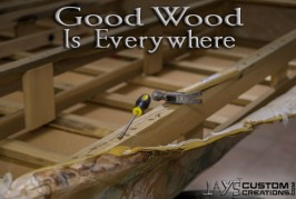 Good Wood Is Everwhere! (not just in pallets!)