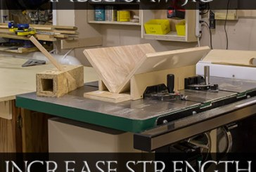 Splined Miter Table Saw Jig
