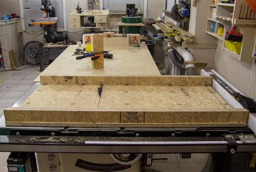 Perfect Mitered Panels With A 45 Degree Crosscut Sled