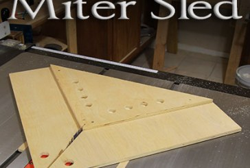 PERFECT Miters With A Table Saw Miter Sled
