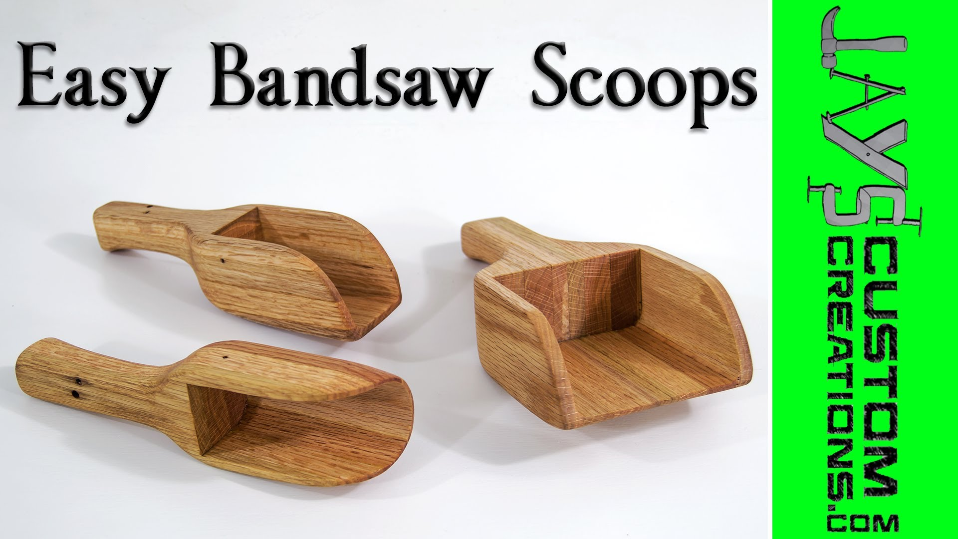 Easy Bandsaw Project Bandsaw Scoops Jays Custom Creations