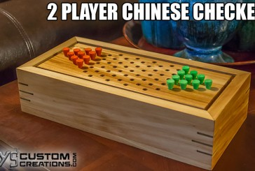 How To Make A 2 Player Chinese Checkers Game Box