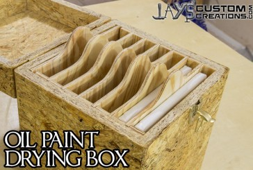 An OSB Experiment: Canvas Drying Box
