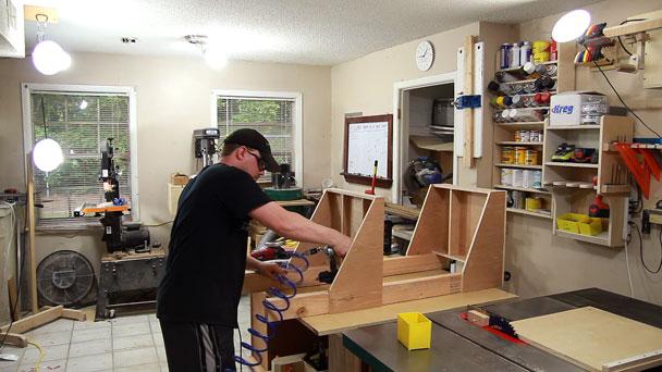 Make An Air Compressor Or Welder Cart | Jays Custom Creations