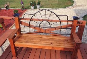 Chaz Loughridge's Unique Bench
