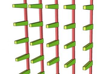 SketchUp: Lumber Rack